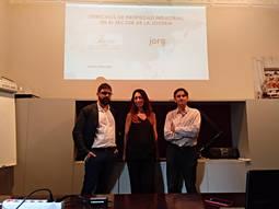 Ponentes: Juan Ignacio Moreu; Director del JORGC; Amalia Cheschistz, de la firma ISERN; y ROGER MORANTE, de la firma Punto Neutro