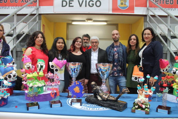 Galardones de patinaje de la Escuela de Vigo