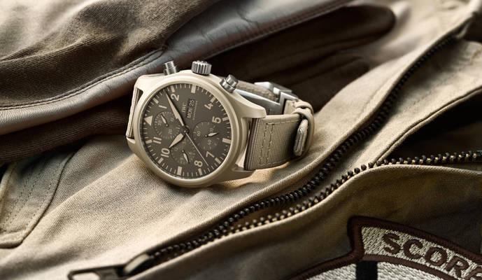 Un reloj tipo aviador inspirado en las arenas del desierto