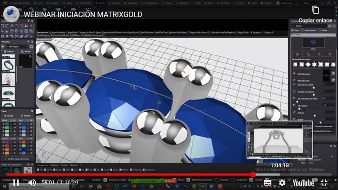 ¿Qué diferencia a Rhinoceros de MatrixGold en el diseño de joyería 3D?