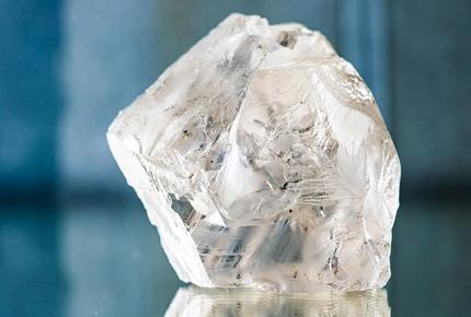 Lucara recupera un diamante de 470 quilates de la mina Karowe en Botswana