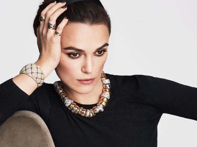 Keira Knightley, nueva imagen de las joyas de Chanel