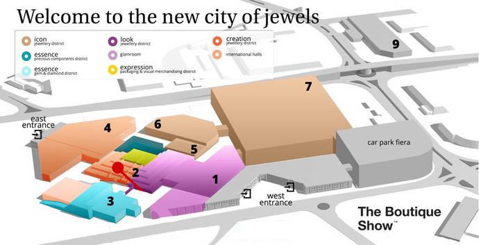 La joyería más fina se reúne bajo el mismo techo en Vicenza