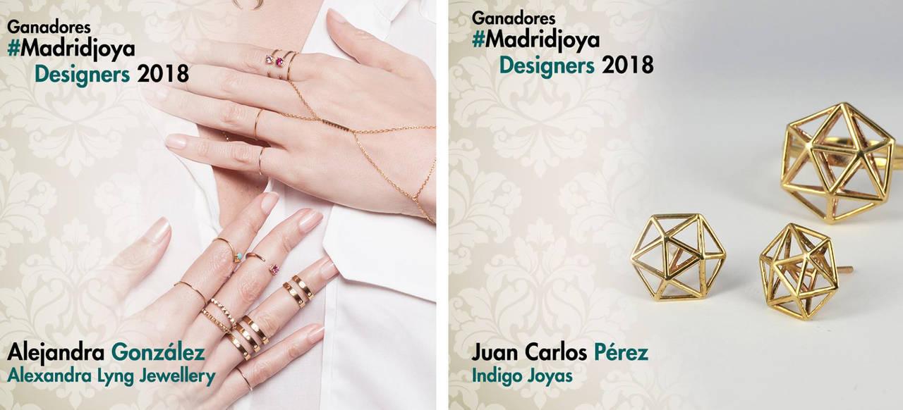 Descubre a los dos ganadores del concurso <em>Madrid Joya Designers</em>