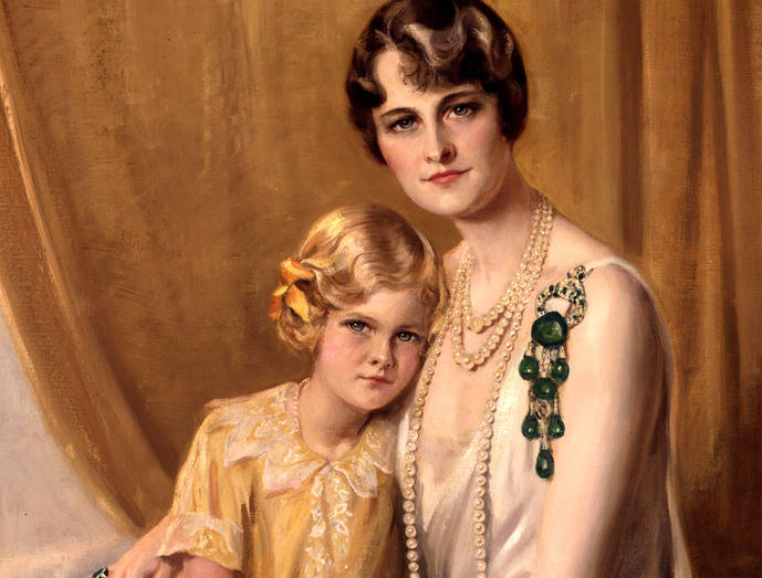 Esmeraldas y diamantes para una joya excepcional