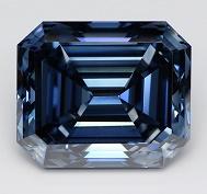 El diamante sintético azul más grande del mundo