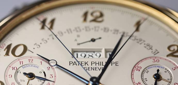 El reloj más <em>complicado</em> de Patek Philippe sale a subasta en Ginebra