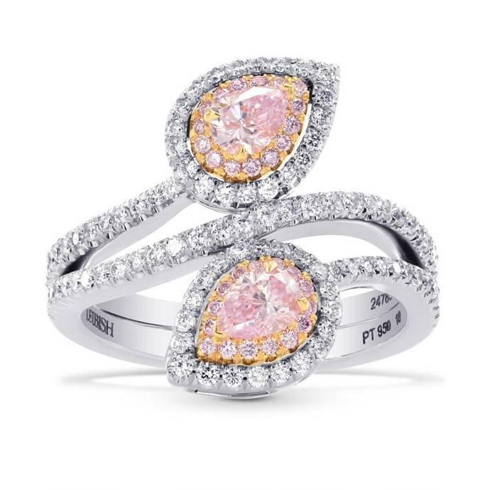 Rarezas de color rosa para demostrar el amor, por Leibish