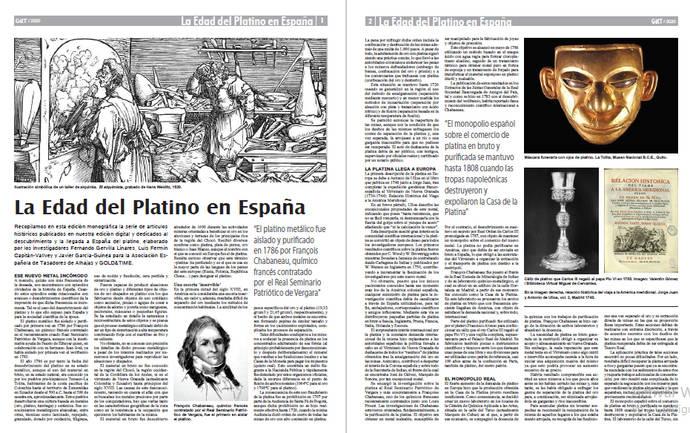 Descarga en PDF el monográfico La Edad del Platino en España