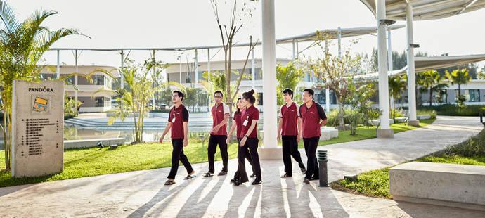 Pandora apuesta fuerte por Tailandia