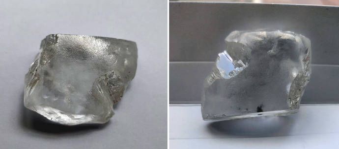 La icónica Cullinan sigue alumbrando grandes gemas: Un diamante de 299 cts