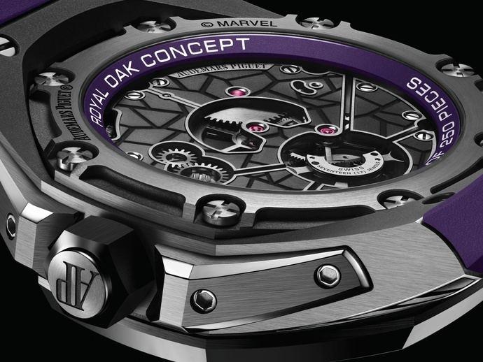Blach Panther, primer super-reloj de Marvel y A. Piguet