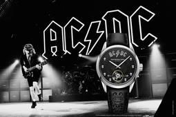 Raymond Weil homenajea a la mítica banda AC/DC