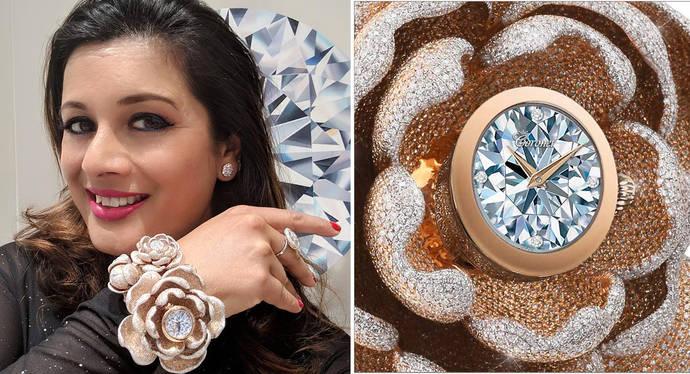 Un reloj con diamantes de récord