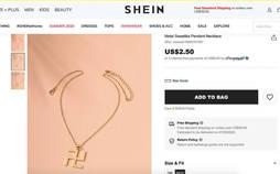 La firma Shein, obligada a retirar un colgante con una esvástica