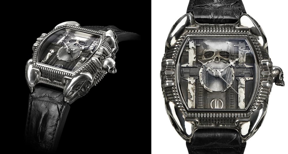 Homenaje relojero al creador de <em>Alien</em>