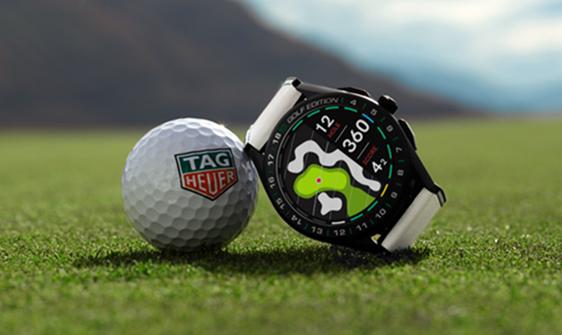 Tag Heuer presenta un reloj conectado para golfistas