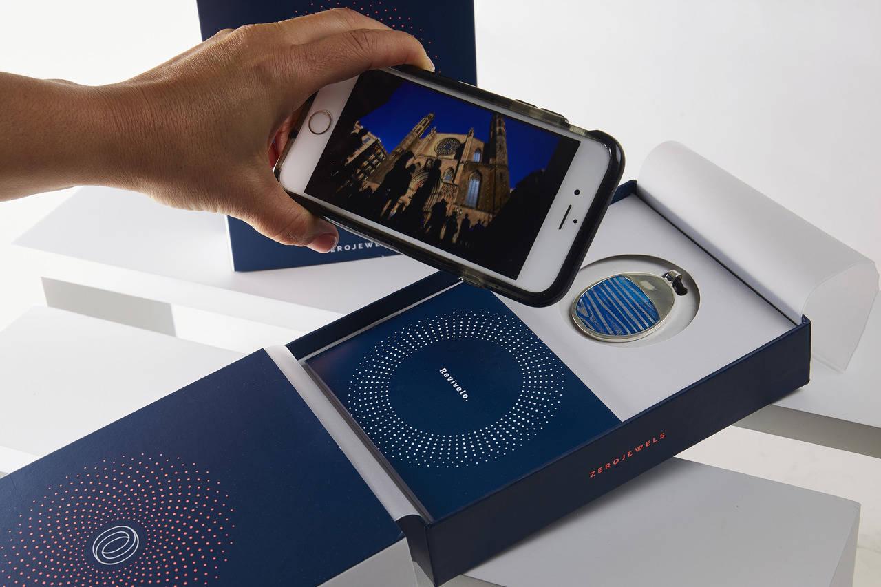 Diseño y tecnología se unen en una joya