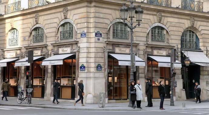 Robo a una boutique de Chopard en París