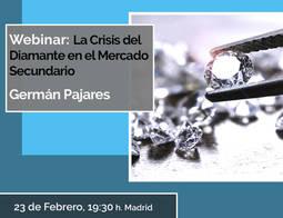 El IGE aborda este martes en directo la crisis del mercado del diamante
