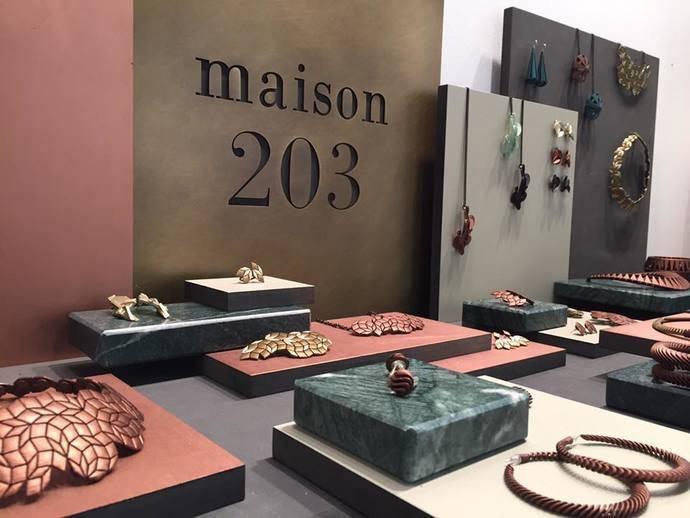 La firma Maison 203 presenta sus creaciones de vinilo en la feria Ambiente