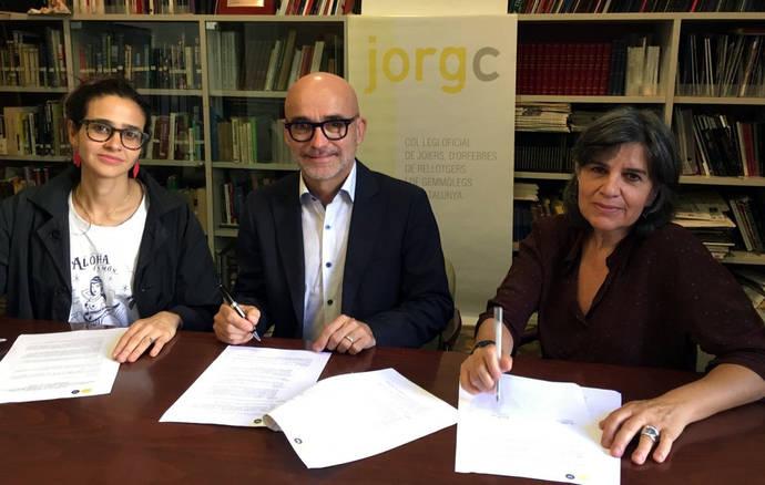 El Colegio de Cataluña facilita el acceso de sus socios a los nuevos materiales para joyería