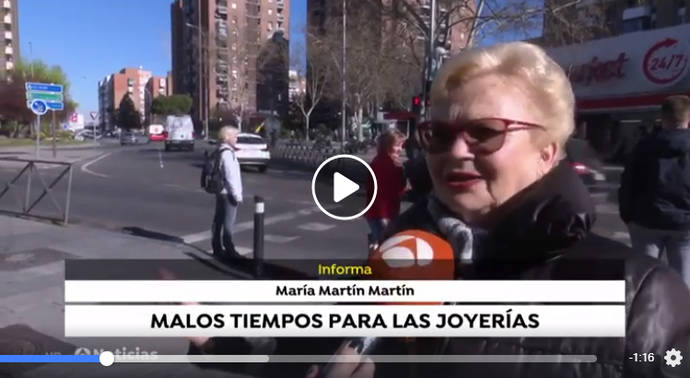 La Asociación Española de Joyeros carga contra la manipulación de Antena 3