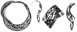 Los tatuajes maorís se transforman en piezas de alta joyería