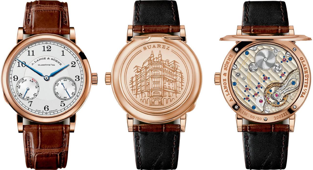 e7bb28c0e5cd A.Lange   Söhne crea un reloj muy especial para Joyería Suárez ...