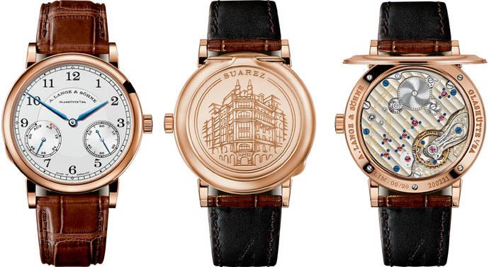 A.Lange & Söhne crea un reloj muy especial para Joyería Suárez