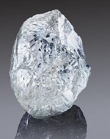Un diamante en bruto del tamaño de una nuez, a subasta