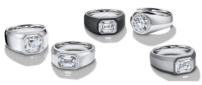 Por fin: El primer anillo de compromiso de hombre, de Tiffany: el Charles