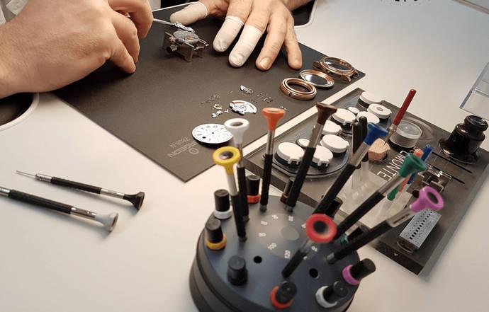 Los relojeros de ANPRE crean su propio manual para la reapertura de los talleres
