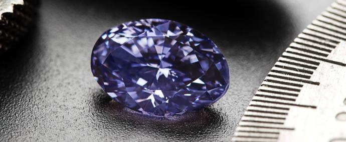 Rio Tinto vende un rarísimo ejemplar de diamante violeta