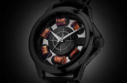 El lado más salvaje de la firma Artya: casquillos de bala en el reloj
