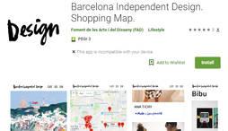 Nueva <em>app</em> para encontrar las joyerías y tiendas más creativas de la Ciudad condal