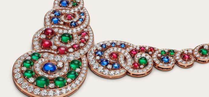 El baroque spiral, exquisito 'horror vacui' en joyería