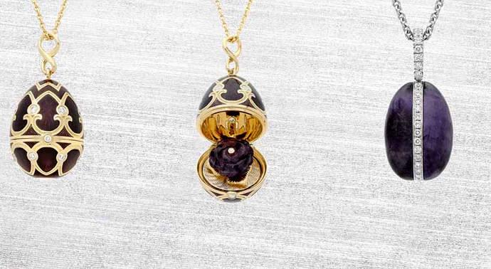 Huevos de Fabergé con el mineral británico más raro