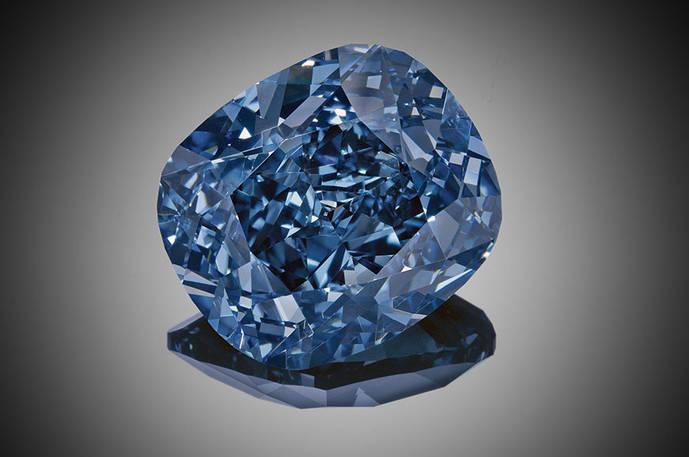 Sotheby's subasta el soberbio diamante Blue Moon