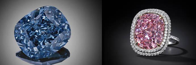 Blue Moon Vs Sweet Josephine: Sotheby's gana la partida a Christie's en las pujas por la alta joyería