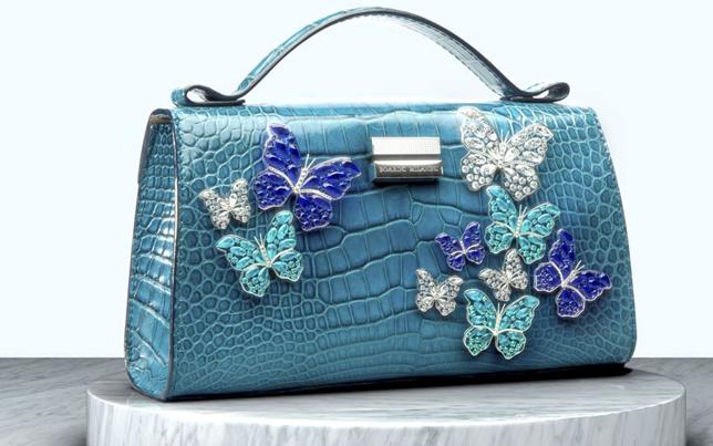 Un bolso-joya para salvar océanos… hecho de piel de cocodrilo