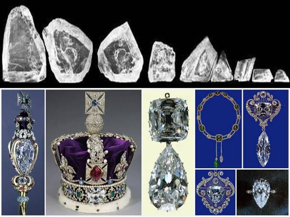 ¿Proceden las joyas de la Corona británica del manto profundo de la Tierra?