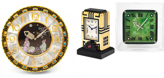 101 relojes históricos de Cartier, a subasta este próximo 1 de julio