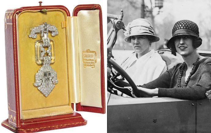 El Art Decó sigue al alza: Un broche de Cartier se multiplica por 10 en subasta