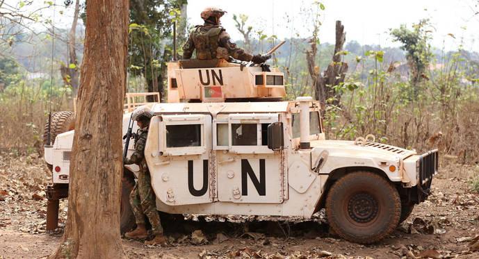 La ONU enviará más tropas a una zona diamantífera de Centroáfrica