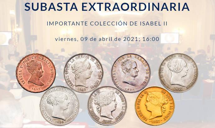 Cayón cierra en abril una subasta de rarísimas monedas del siglo XIX