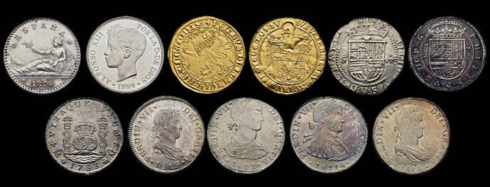 Cayón abre pujas por más de 700 lotes de monedas
