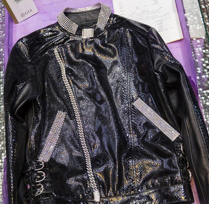 Diamantes flawless para la chaqueta más cara de la historia