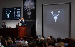 Christies rompe récords de subasta en Nueva York con piezas de los Maharajás