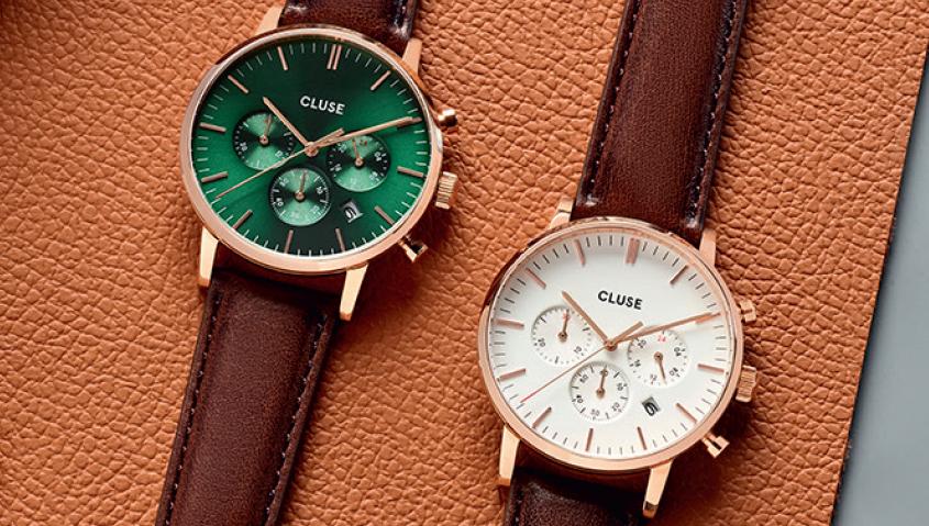 La marca Cluse estrena línea de relojería para hombres